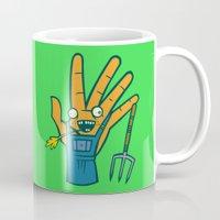 farm Mugs featuring Farm Hand by Artistic Dyslexia