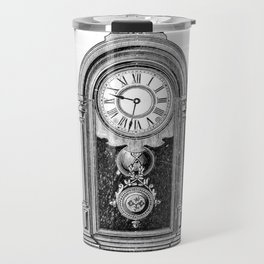 Clock Travel Mug