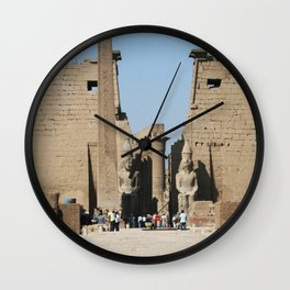 Temple of Luxor, no. 12 Wall Clock