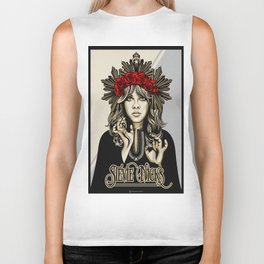 Stevie Nicks White Witch Biker Tank