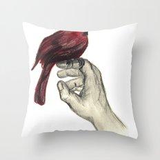 Cardinal Focus Throw Pillow