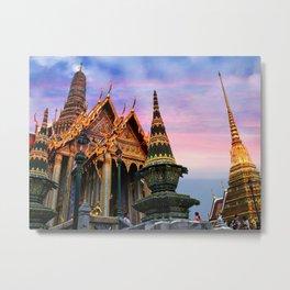 Bangkok palace III Metal Print