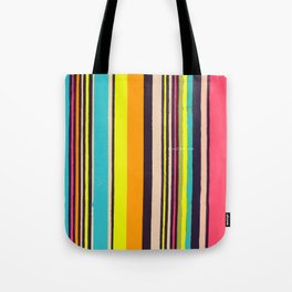 Candy Stripes! Tote Bag
