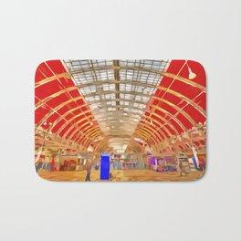 Paddington Railway Station Pop Art Bath Mat