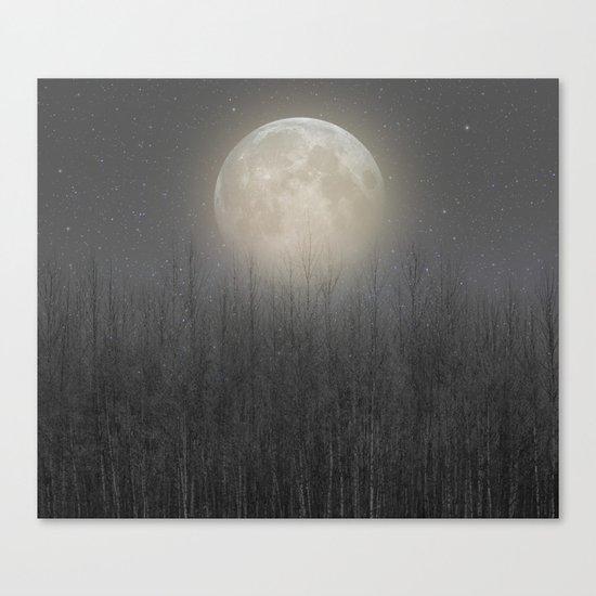 The Moon Shines Bright II Canvas Print