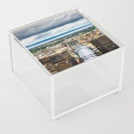 View from Edinburgh Castle, Scotland Acrylic Box