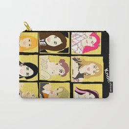 Knock Knock! Yellow Version Carry-All Pouch