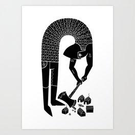 logger Art Print