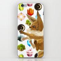 eevee iPhone & iPod Skins featuring Eevee by Katie O'Meara