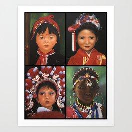 Children Of The World  Art Print