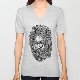 Jerry Garcia Unisex V-Neck