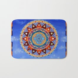 Sri Yantra Bath Mat