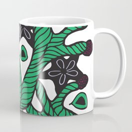 Alga with sea stars and coral Coffee Mug