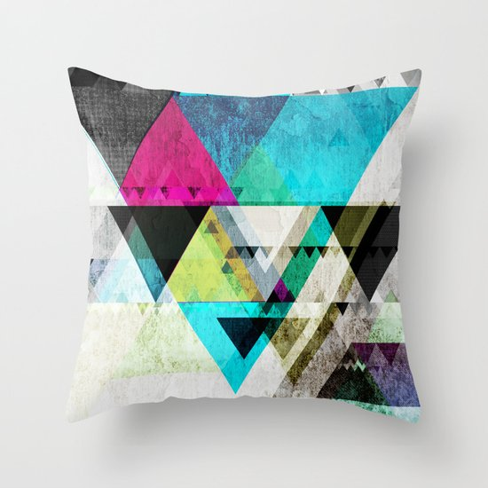 Graphic 4 X Throw Pillow