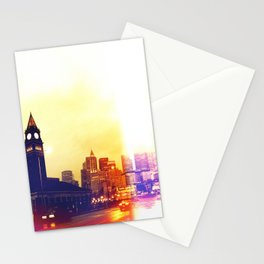 Light Leaks in Seattle Stationery Cards