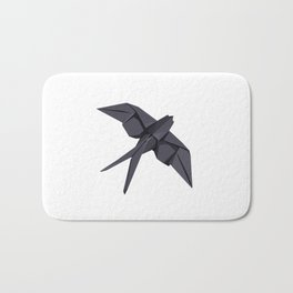 Origami Swallow Bath Mat