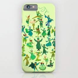 positively emerald iPhone Case