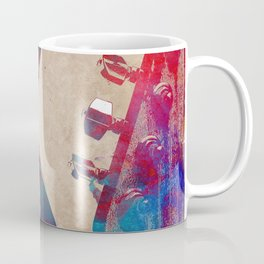 Guitar art 6 #guitar #music Coffee Mug