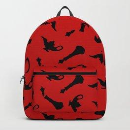 i dream of evil djinn Backpack