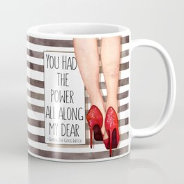 Red Slippers Coffee Mug