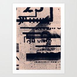 Typefart 004 Art Print