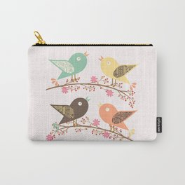 Four birds Carry-All Pouch