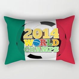 2014 World Champs Ball - Mexico Rectangular Pillow