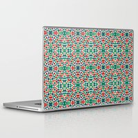 batik Laptop & iPad Skins featuring Christmas Batik by Kaleidoscope Patterns!
