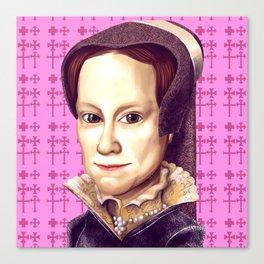 Mary Tudor, Mary I of England Canvas Print