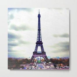 La Tour Eiffell Metal Print