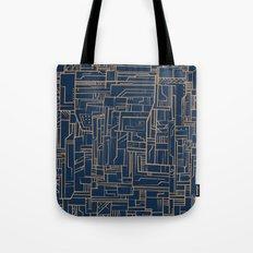 Electropattern Tote Bag