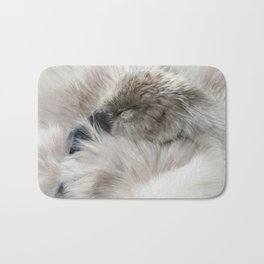 Sleepy Cygnet Bath Mat