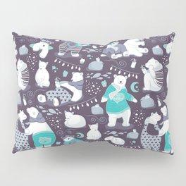 Arctic bear pajamas party Pillow Sham