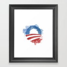 Artists for Obama Framed Art Print