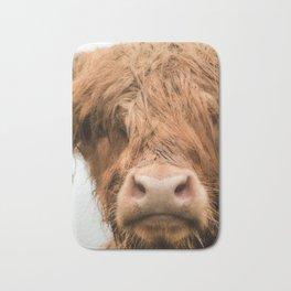 Highland Cow, Bad Hair Day Bath Mat