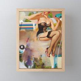 Living Color Framed Mini Art Print
