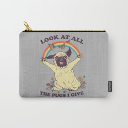 All The Pugs I Give Carry-All Pouch