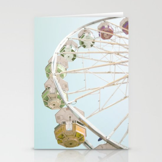 Pastel Ferris Wheel  Stationery Cards