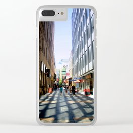 Light & Shadows Clear iPhone Case