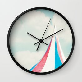 Carnival Tent Wall Clock