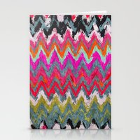chevron Stationery Cards featuring Chevron * by Mr and Mrs Quirynen
