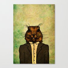 Mr Groundhog Canvas Print