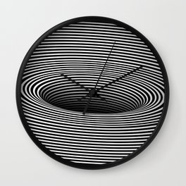 Black Hole Vertigo Wall Clock