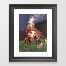Gunpowder Villain Framed Art Print