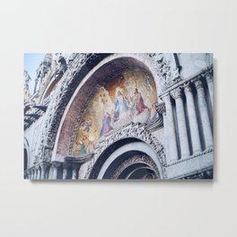 Venice Mural Metal Print