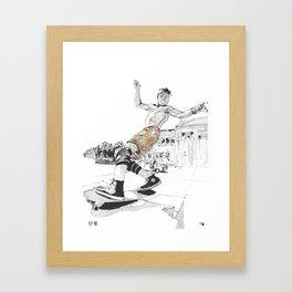 Rodney Mullen Framed Art Print
