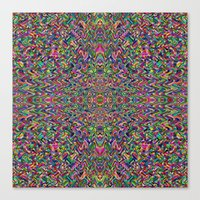 persian Canvas Prints featuring Persian by Glanoramay