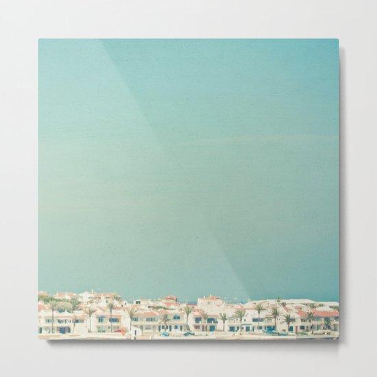 Mediterranean Skyline Metal Print