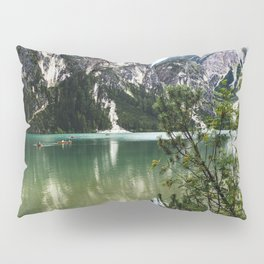 LAKE - MOUNTAINS - ROCKS Pillow Sham
