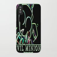 invader zim iPhone & iPod Cases featuring invader zim gir by jjb505